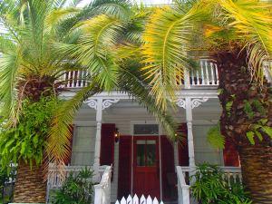 Key West is zo  mooi: oude huizen en oude bomen.