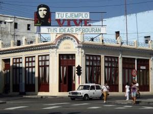 Che Guevara is nog steeds het grote voorbeeld.