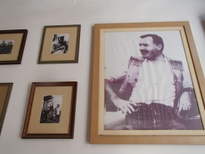 In Havana is het Hemingway voor en Hemingway na. Het is de ennige Amerikaan die door de Cubanen echt wordt gewaardeerd.