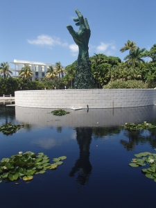 Het Holocaust Memorial is echt een landmark in Miami.