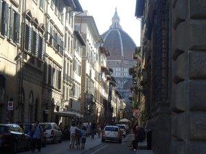 De enorme koepek van Brunelleschi, groot maar mooi??